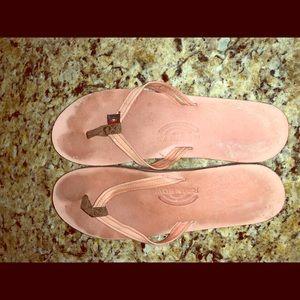 Pink rainbow Sandals